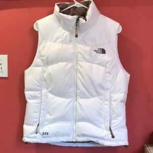 North face 550 down vest